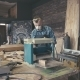 Craftsman with Saved Glasses Work at His Workstation. - VideoHive Item for Sale