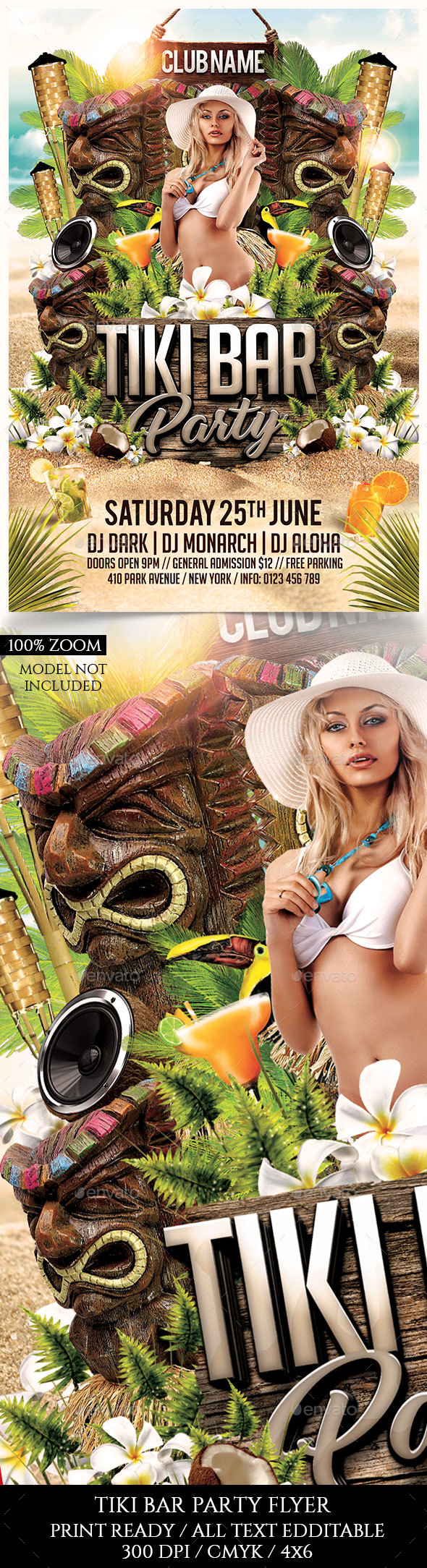 Tiki Bar Party - Clubs & Parties Events