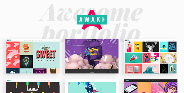 Awake - A Vibrant and Fresh Portfolio Theme - Portfolio Creative