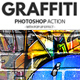 Graffiti Effect with Pop Up Photoshop Action - GraphicRiver Item for Sale