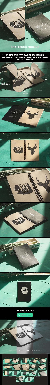 Draft Book Mockup - Books Print