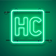 Neon Logo Mockup - GraphicRiver Item for Sale