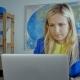 Female Creative Designer Working On Laptop