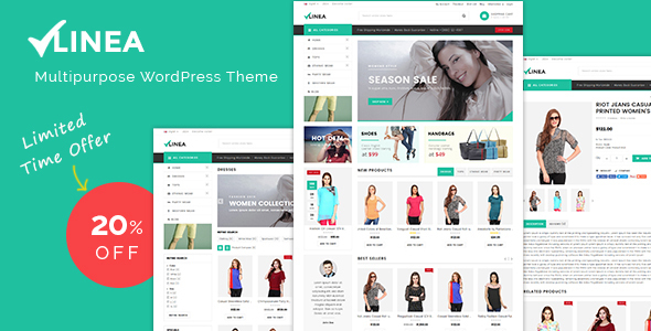 Linea – Fashion WooCommerce Theme