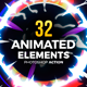 32 Animated Effects Action - GraphicRiver Item for Sale