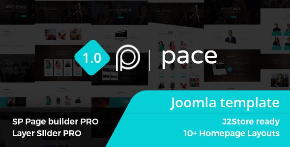 Pace – Responsive MultiPurpose Joomla Theme