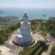 Big Buddha Statue Birds Eye View