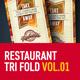 Multipurpose Restaurant Tri fold Brochure - GraphicRiver Item for Sale