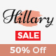 Hillary - Simple and Elegant WordPress Blog Theme - ThemeForest Item for Sale