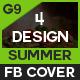 Summer Facebook Cover - 4 Design