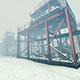 Industrial Zone In Winter - VideoHive Item for Sale
