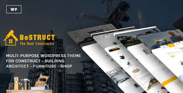 BeStruct – Construction & WooCommerce WordPress Theme