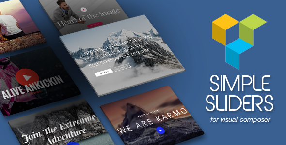 Simple Sliders for Visual Composer - CodeCanyon Item for Sale