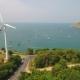 Wind Power Station. Windmill Near Naiharn Beach, Phuket