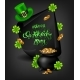 Greeting Card Design with Happy Saint Patrick's Day - GraphicRiver Item for Sale