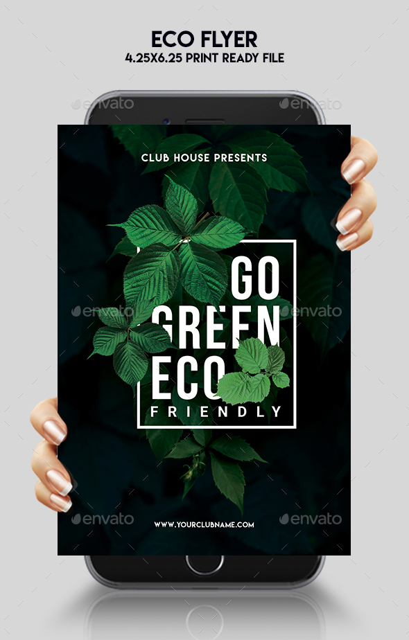 Eco Flyer - Events Flyers