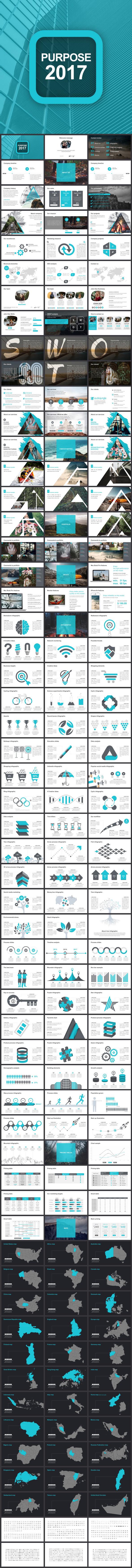 Purpose 2017 Google Slides Template - Google Slides Presentation Templates