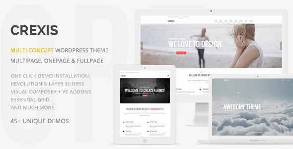 Crexis - Responsive Multi-Purpose WordPress Theme - Creative WordPress