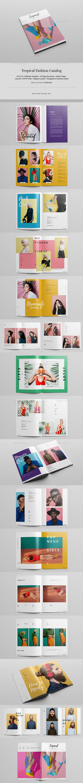 Tropical Fashion Catalog / Lookbook - Catalogs Brochures