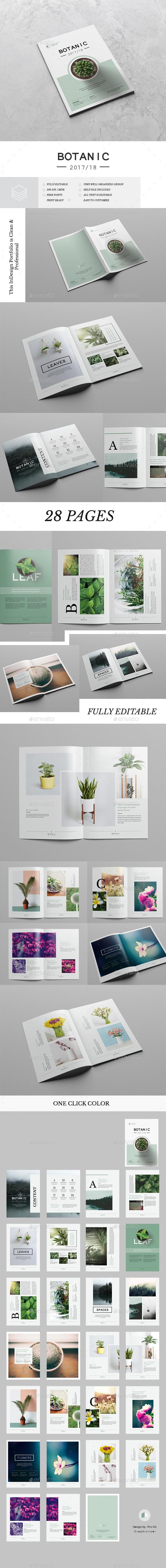 Botanic Portfolio - Portfolio Brochures