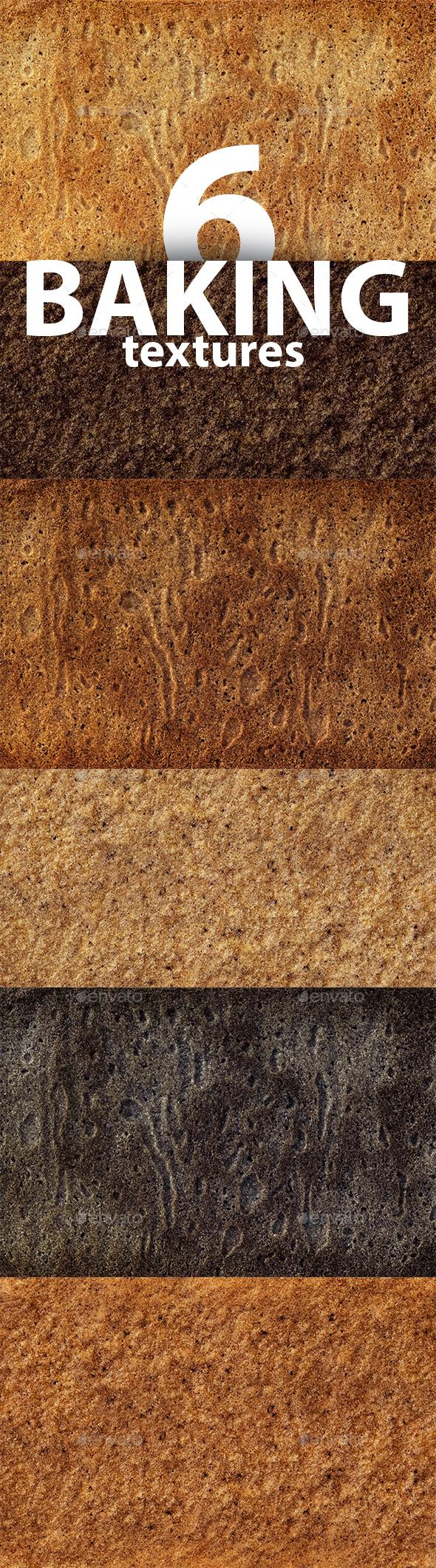 Gingerbread Cookies Textures Set - Textures