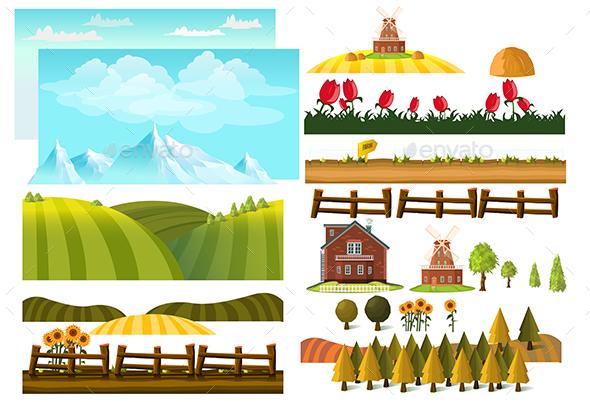 Farm Landscape Creator - Landscapes Nature