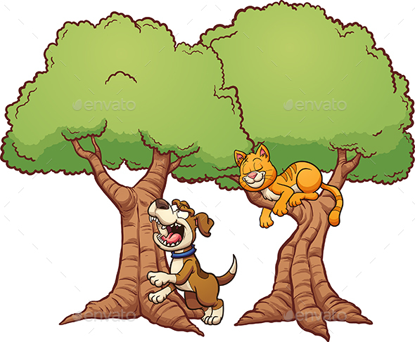 Barking up the Wrong Tree - Animals Characters