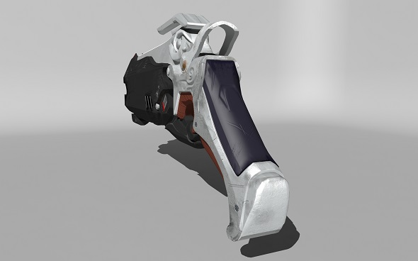 Overwatch Reaper Gun - 3DOcean Item for Sale