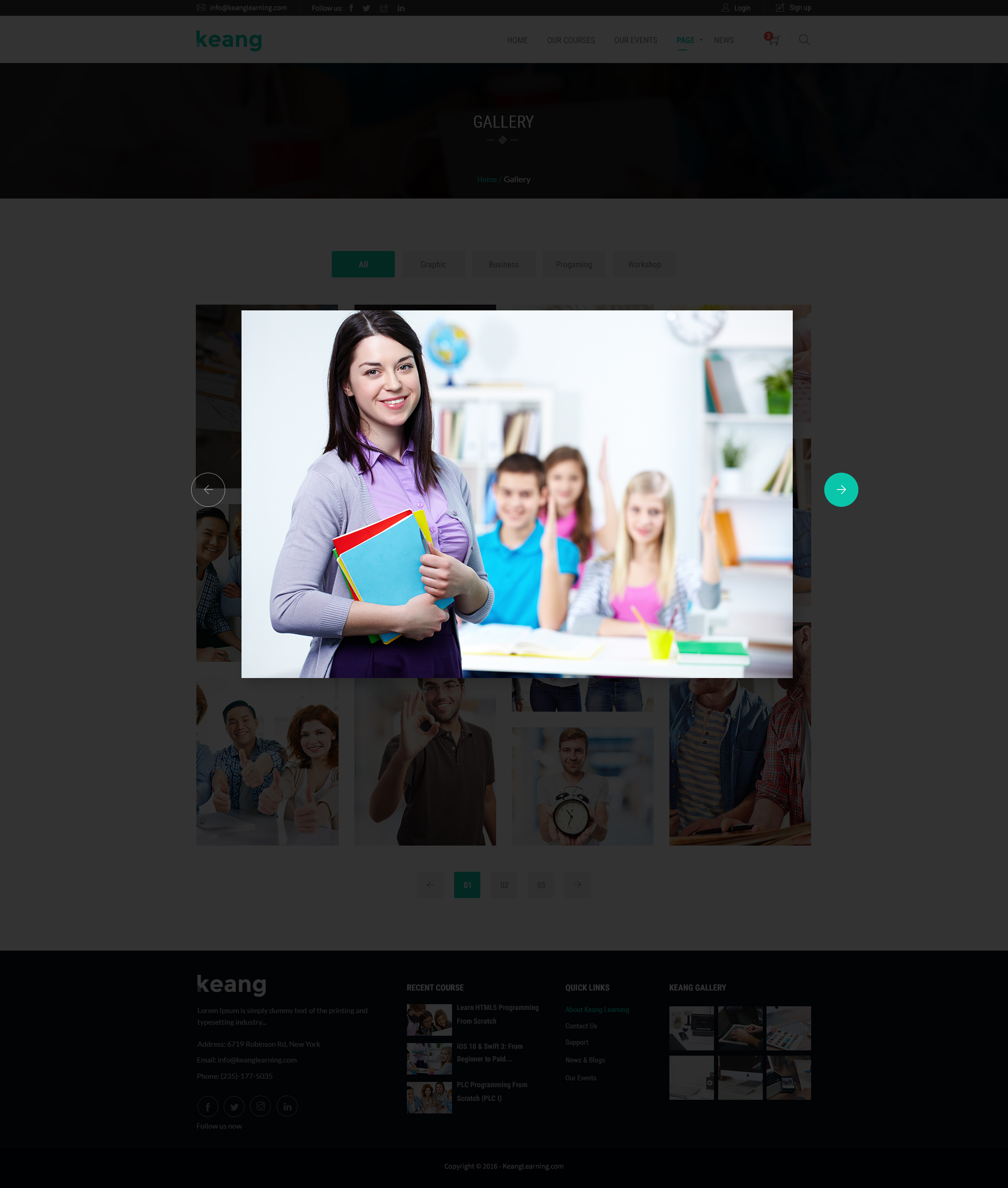 Cool Html5 Gallery Template Gallery - Professional Resume Example ...