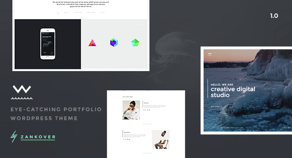 Wolfe - Porfolio WordPress Theme