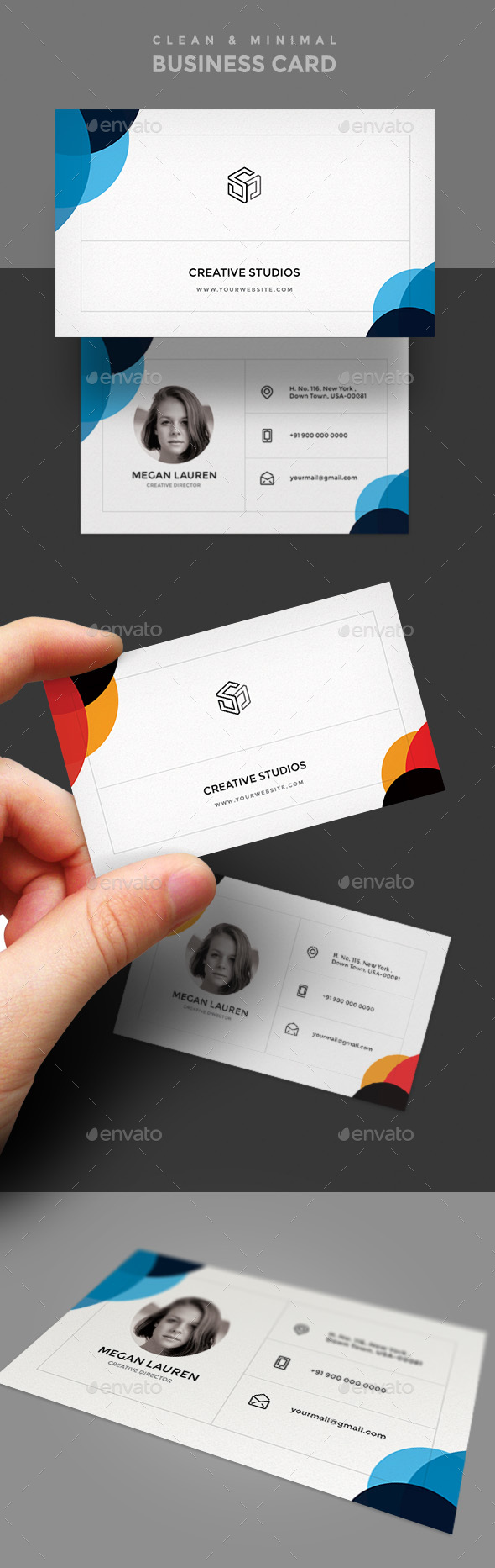 Business Card Template - Creative Business Cards