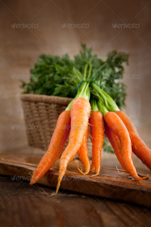 Fresh carrots - Stock Photo - Images