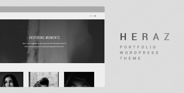 Heraz – Creative Portfolio WordPress Theme