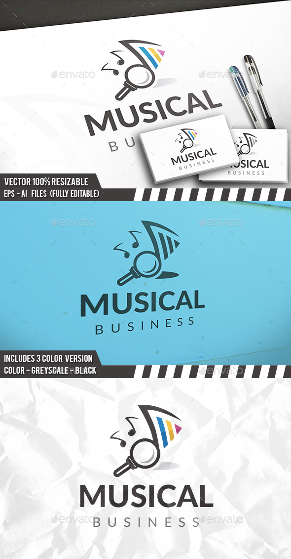 Music Finder Logo - Company Logo Templates