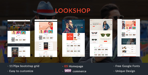 Lookshop - Responsive WooCommerce WordPress Theme