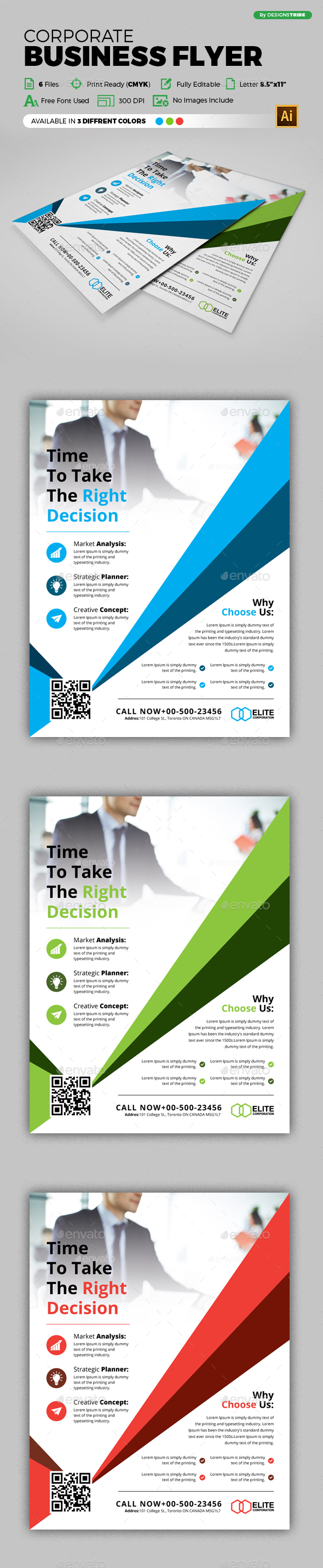 Flyer – Multipurpose 289 - Corporate Flyers