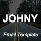JOHNY - Multipurpose Responsive Email Template With Stamp Ready Builder Access - ThemeForest Item for Sale