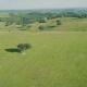 Aerial View Green Rural Landscape