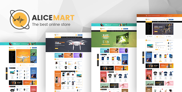 Alice - Multipurpose Responsive Magento Theme - Technology Magento