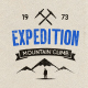 Mountain Expedition Badges - GraphicRiver Item for Sale
