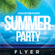 Summer V.1 - Club And Party Flyer - GraphicRiver Item for Sale