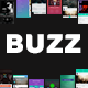Buzz Music App UI - GraphicRiver Item for Sale