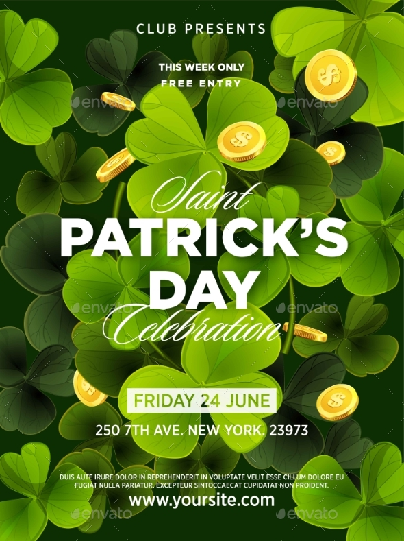St. Patrick s Day Green Beer Party Invitation - Decorative Symbols Decorative