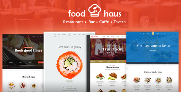 Food Haus Restaurant - WordPress Restaurant Theme - Restaurants & Cafes Entertainment