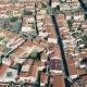 Aerial View Red Tiled Roofs City - VideoHive Item for Sale