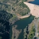 Aerial View of Dam Near Pomarao - VideoHive Item for Sale