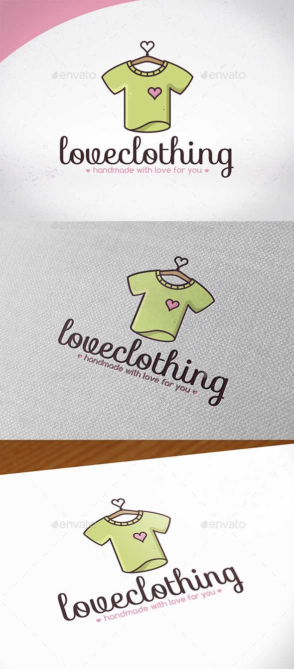 Love Clothing Logo Design - Humans Logo Templates