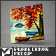 Square Canvas Mock-Up - GraphicRiver Item for Sale