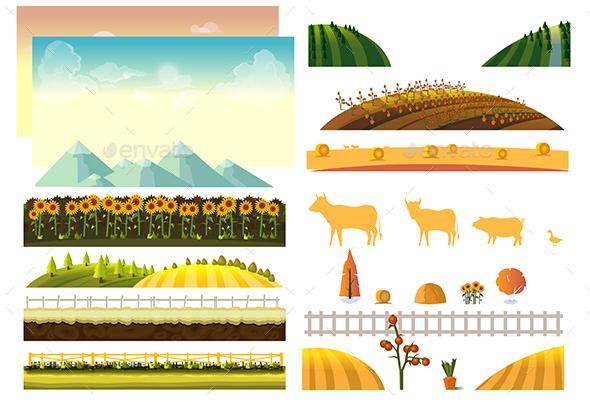 Farm Landscape Constructor 2 - Landscapes Nature
