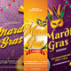 Mardi Gras Flyer Bundle - GraphicRiver Item for Sale